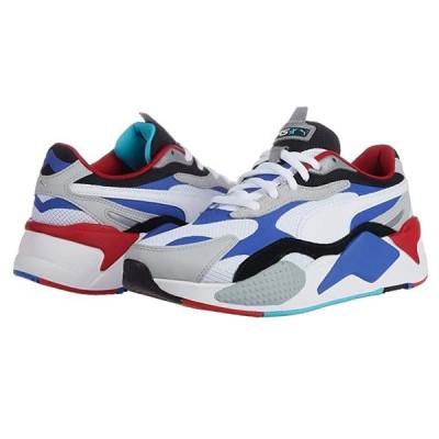 プーマ RS-X3 Puzzle メンズ スニーカー 靴 シューズ Puma White/Dazzling Blue/High-Rise