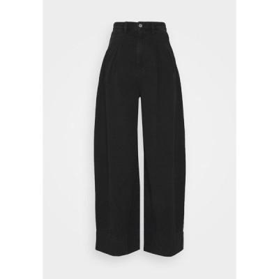 モンキ デニムパンツ レディース ボトムス NANI PALAZZO - Flared Jeans - black dark