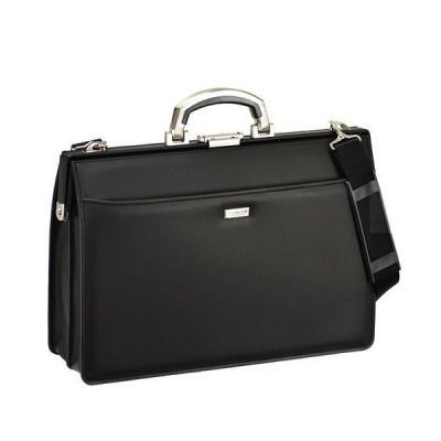 ダレスバッグ ビジネスバッグ B4 合皮 日本製 豊岡製鞄 22302-01 黒 ___