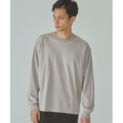 green label relaxing/グリーンレーベル リラクシング home [ Livelihood ] Relaxing L/S Tee 長袖 Tシャツ ロンT # BEIGE L