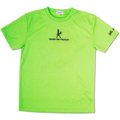 Ball de Match(バルデマッチ) レディスTシャツ No Game 2Day BM-JW1526 ライムグリーン S