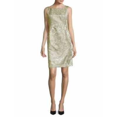 ラファイエット148ニューヨーク レディース ワンピース Faith Metallic Printed Boatneck Dress