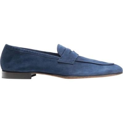 オット バイ ユークス 8 by YOOX メンズ ローファー シューズ・靴 loafers Dark blue