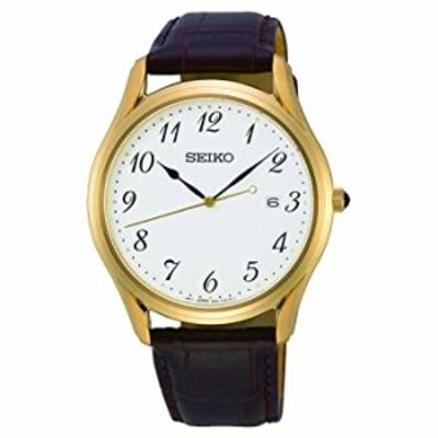 Seiko Neo Classic Quartz White Dial Men's Watch SUR306