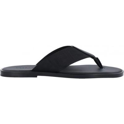 ヴェルサーチ VERSACE メンズ ビーチサンダル シューズ・靴 flip flops Black