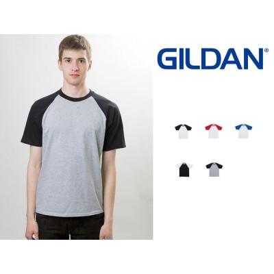 Tシャツ ギルダン 半袖 5.3oz ラグランTシャツ GILDAN Premium Cotton 5.3oz Short Sleeve Raglan T-Shirt for Japanese