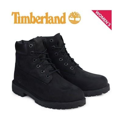 【スニークオンラインショップ】 Timberland 6INCH WATERPROOF BOOTS ティンバーランド ブーツ レディース 6インチ プレミアム ウォータープルーフ ブラック 1 レディース その他 22.5 SNEAK ONLINE SHOP
