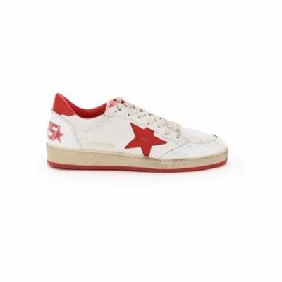 GOLDEN GOOSE DELUXE BRAND/ゴールデン グース デラックス ブランド スニーカー WHITE STRAWBERRY RED Golden goose ball star sneakers
