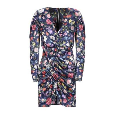 NORA BARTH ミニワンピース&ドレス ダークブルー 42 ポリエステル 100% ミニワンピース&ドレス
