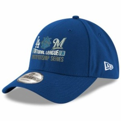 New Era ニュー エラ スポーツ用品  New Era Los Angeles Dodgers vs. Milwaukee Brewers Royal 2018 NLCS Dueling 9FORTY Hat