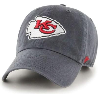 フォーティセブン 47 メンズ キャップ 帽子 Kansas City Chiefs Cleanup Adjustable Hat