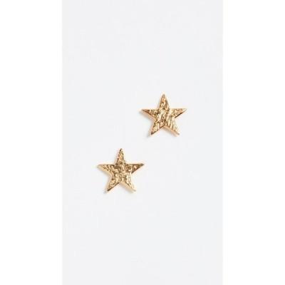 ゴリアナ Gorjana レディース イヤリング・ピアス スタッドピアス ジュエリー・アクセサリー Star Stud Earrings Gold