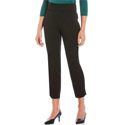 インベストメンツ レディース カジュアルパンツ ボトムス the PARK AVE fit Pull On Classic Ankle Pants Black