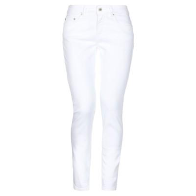 ドンダップ DONDUP パンツ ホワイト 31 コットン 98% / ポリウレタン 2% パンツ