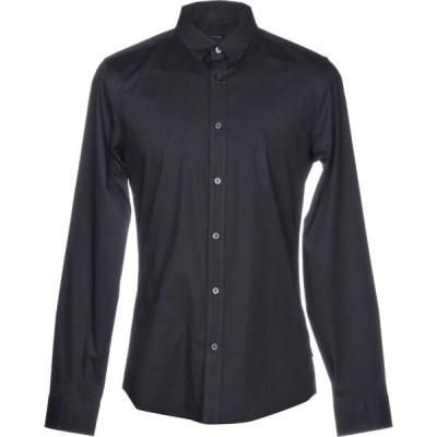 オンリーアンドサンズ ONLY & SONS メンズ シャツ トップス solid color shirt Dark blue
