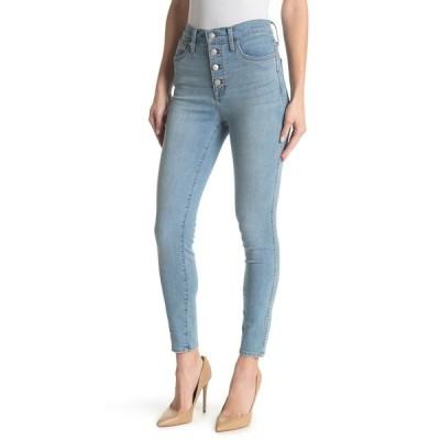 メイドウェル レディース デニムパンツ ボトムス 10hr Button Fly Skinny Jeans MICKLETON WASH