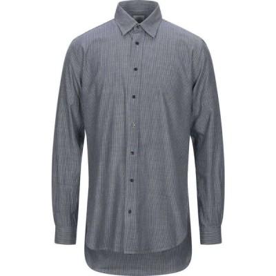 バブアー BARBOUR メンズ シャツ トップス striped shirt Slate blue