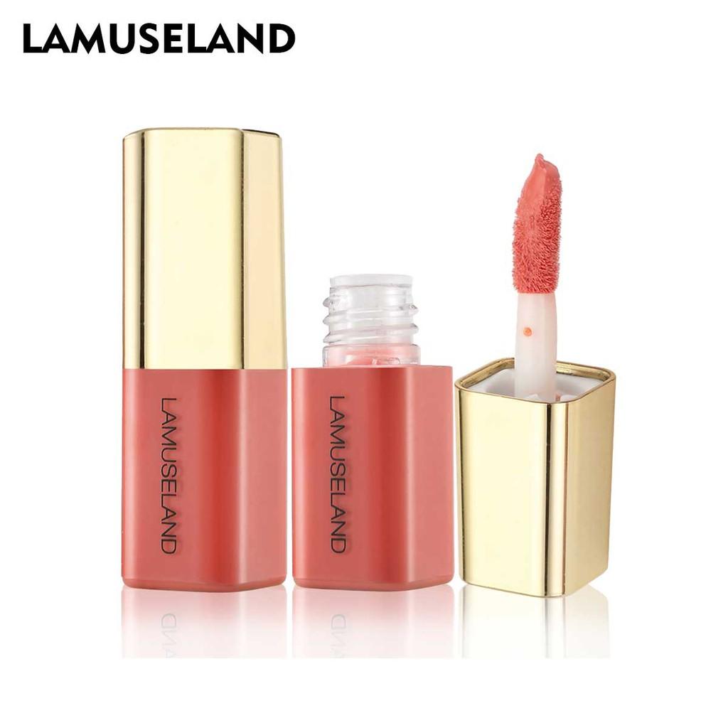 拉慕絲蘭 心機微醺腮紅 提亮膚色 裸妝自然持久顯色腮紅 4色可愛迷你腮红液 LA2008