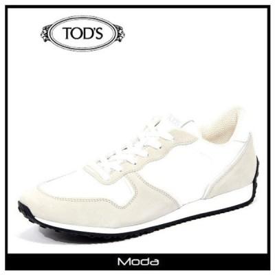TOD'S トッズ スニーカー メンズ 白 ホワイト レースアップ ローカット