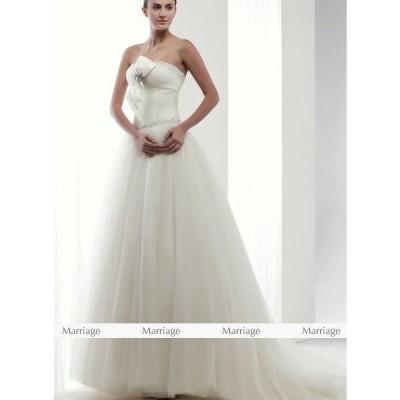 K95107  ウェディングドレス  ウエディングドレス マタニティー対応