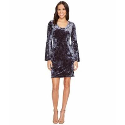 Karen Kane カレンケーン ドレス 一般 Velvet Bell Sleeve Dress