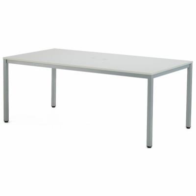 OAミーティングテーブル W1800xD900 ホワイト ATW-1890TL アールエフヤマカワ RFyamakawa 会議机 会議室 フリーアドレス 大型テーブル 作業台 オフィス家具