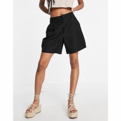 ジェイディーワイ JDY レディース ショートパンツ ボトムス・パンツ woven belted a line shorts in black ブラック