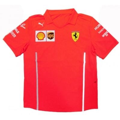 2020 スクーデリア・フェラーリ チーム支給品 セットアップTシャツ サイズM 新品