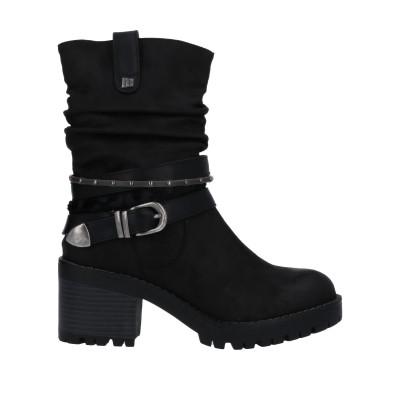 MTNG ショートブーツ ブラック 36 紡績繊維 ショートブーツ