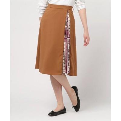 スカート ZIPプリーツスカート