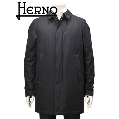 ヘルノ ラミナー HERNO LAMINAR メンズ ダウンコート ステンカラー ブラック ビジネスアウター 国内正規品 Men's