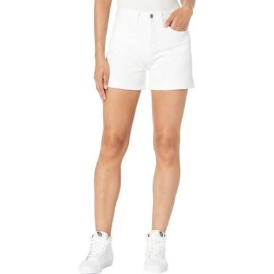 ヴァンズ Vans レディース ショートパンツ ボトムス・パンツ High-Rise Roll Cuff Shorts White