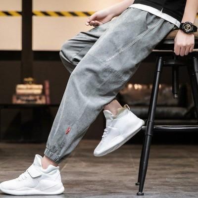 ボトムス メンズ ロングパンツ イージーパンツ 運動着 スポーツウェア ゆったり 裾絞り ジョガーパンツ 無地 シンプル 春 夏 トレーニング ラン