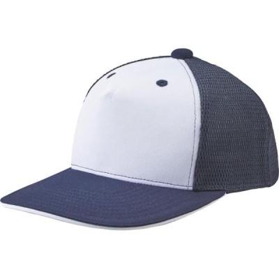CAP 帽子 キャップ フロントパネルキャップ ネイビー  (DES)(CQB27)