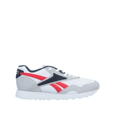 リーボック REEBOK スニーカー&テニスシューズ(ローカット) ホワイト 5 紡績繊維 / 革 スニーカー&テニスシューズ(ローカット)