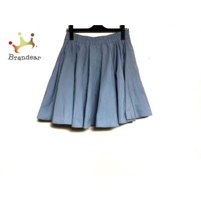 ミューズデドゥーズィエムクラス スカート サイズ38 M レディース ライトブルー     スペシャル特価 20200528