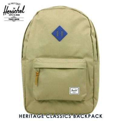 ハーシェル バッグ 正規販売店 Herschel Supply ハーシェルサプライ バッグ リュックサック HERITAGE CLASSICS BACKPACK 10007-01257-OS