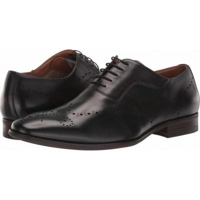 スティーブ マデン Steve Madden メンズ 革靴・ビジネスシューズ シューズ・靴 Dimas Oxford Black Leather