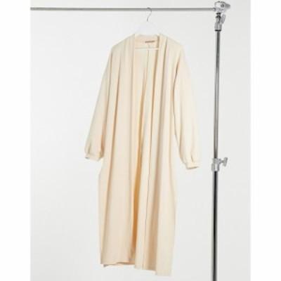 スカイラーローズ Skylar Rose レディース カーディガン ロングカーディガン トップス maxi cardigan in cream knit クリーム