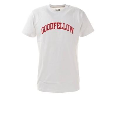 Tシャツ メンズ クラック プリント半袖 871PA0BGI3120WHT