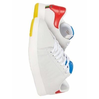 コールハーン スニーカー シューズ メンズ GrandPro Tennis Sneaker Light Gray Nubuck/Flame/Blue