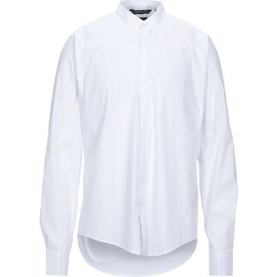 アウトフィット OUTFIT メンズ シャツ トップス Solid Color Shirt White