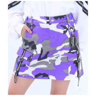 ANAP GiRLチェーン付カーゴスカート【お取り寄せ商品】