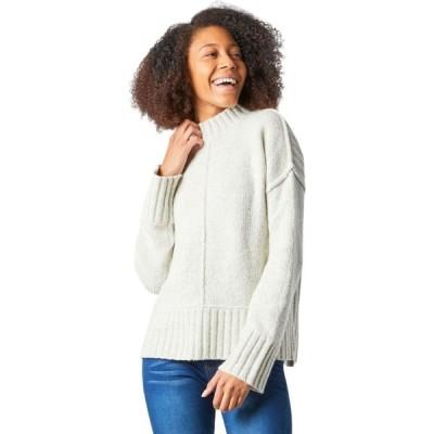 スマートウール Smartwool レディース ニット・セーター トップス Bell Meadow Sweater Ash/Light Gray Heather Marl