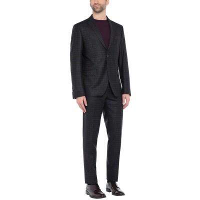 DOMENICO TAGLIENTE スーツ ブラウン 52 スーパー100 ウール 99% / ポリウレタン 1% スーツ