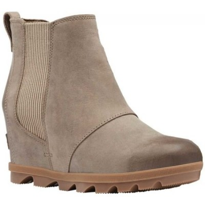 ソレル Sorel レディース ブーツ チェルシーブーツ ウェッジソール シューズ・靴 Joan Of Arctic Wedge II Chelsea Boot Khaki II Waterproof