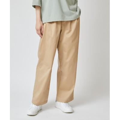 arnold palmer / ストレッチチノワイドパンツ WOMEN パンツ > チノパンツ