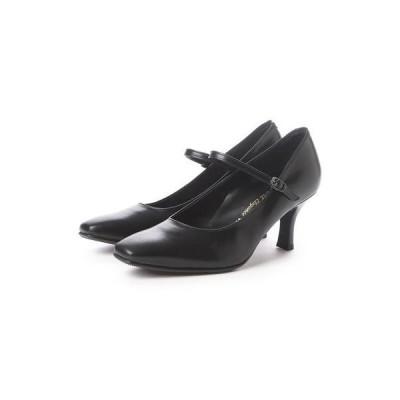 ビューフォートエレガンス BeauFort elegance 2Eウイズウォーキングパンプス(ブラック)