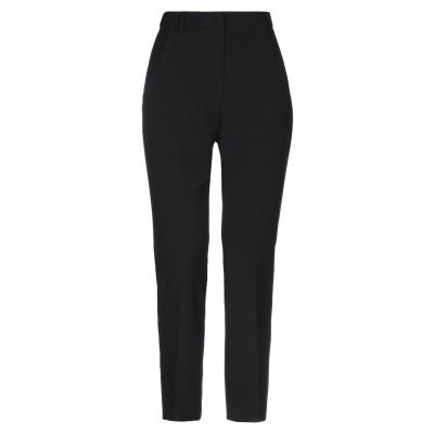 WEEKEND MAX MARA パンツ ブラック 38 ポリエステル 70% / レーヨン 24% / ポリウレタン 6% パンツ