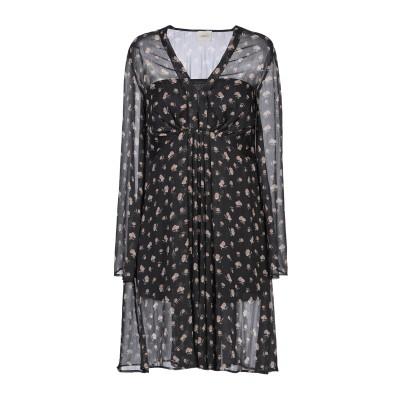 メルシー ..,MERCI ミニワンピース&ドレス ブラック 40 ポリエステル 100% ミニワンピース&ドレス